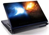 Laptopskin univers 00006
