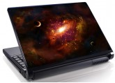 Laptopskin univers 00017